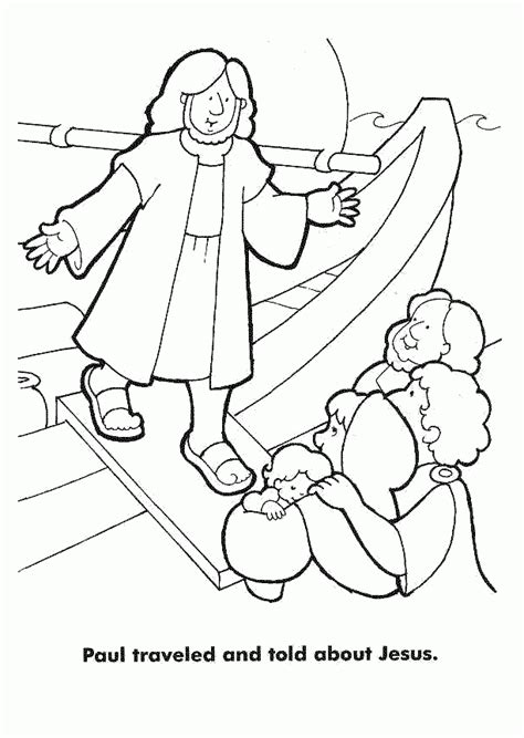 paul coloring page conversion the coloring pages az coloring pages
