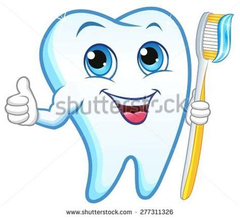 tooth toothbrush smiling stock vektorgrafik