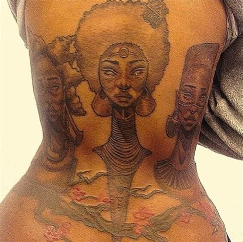 colored tattoos on brown skin pin by geronima d on inspiration