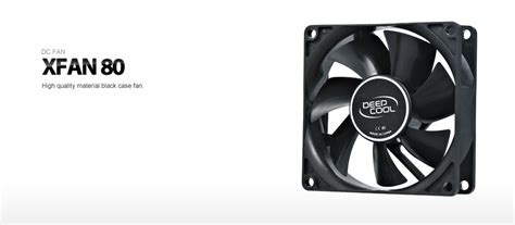Deepcool Xfan 12cm Led Blue xfan 80 deepcool fan