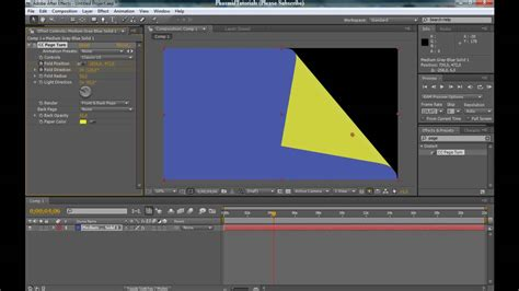 tutorial video maker fx after effects tutorial how to make the book effect