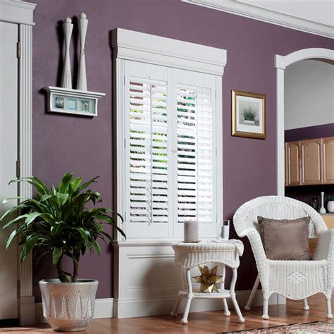 Plantation Faux Wood White Interior Shutter by Homebasics 174 Plantation Faux Wood Interior Shutter 23 Quot 25