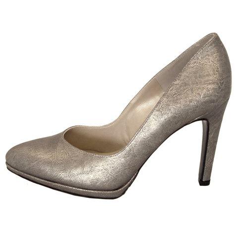metallic shoes kaiser herdi taupe furla metallic leather