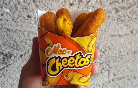 Mac N Cheetos macaroni filled cheese puffs mac n cheetos