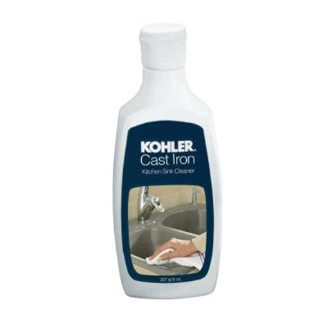 kohler 8 oz cast iron kitchen sink cleaner 1012525 the