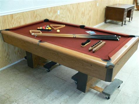 amf playmaster pool table price amf playmaster slate home pool table 7