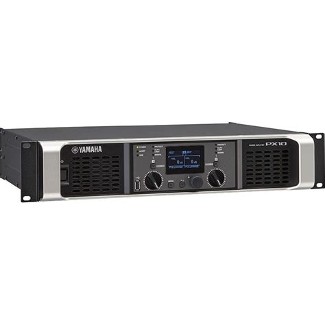 Power Lifier Yamaha yamaha px10 stereo power lifier 1000w at 8 ohms px10 b h