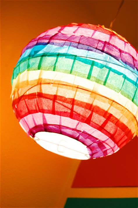 Tissue Paper Lantern Craft - paper craft for hgtv design design happens