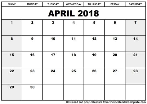 Printable Calendar March April 2018 | march april 2018 calendar printable journalingsage com