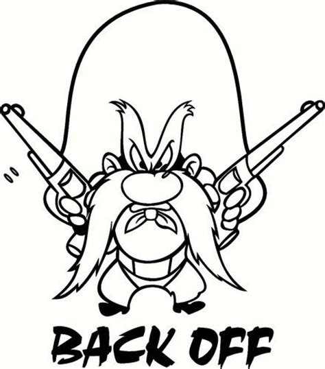 yosemite sam vinyl decal sticker ebay
