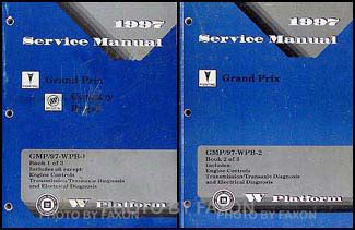 service manuals schematics 1997 pontiac grand prix navigation system 1997 pontiac grand prix repair shop manual original 2 volume set