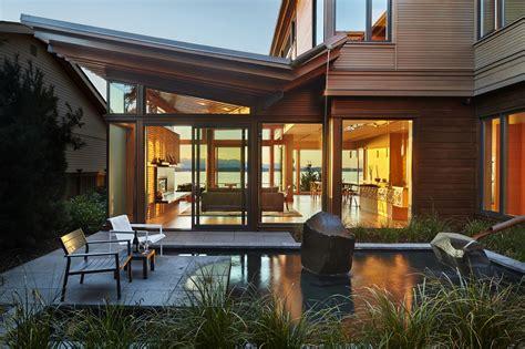 living roof seattle elliott bay house modern home in seattle washington by