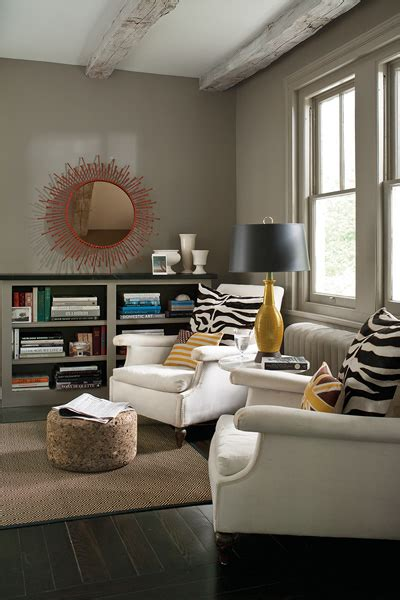 taupe paint colors contemporary den library office benjamin sparrow benjamin