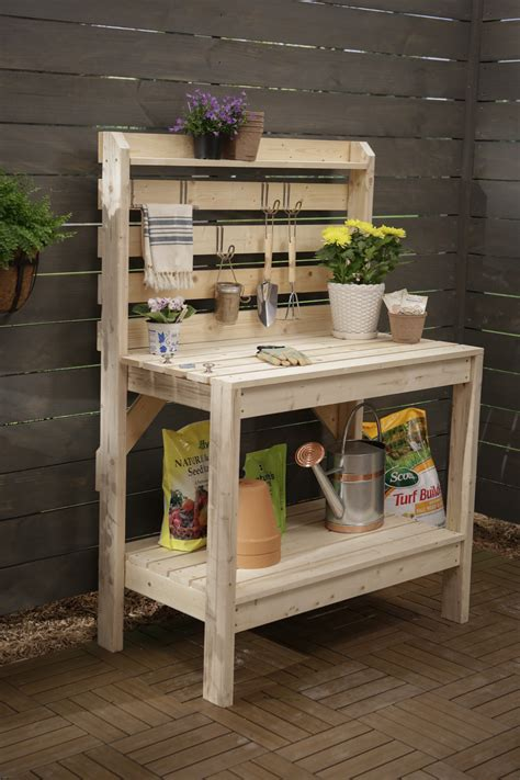 garden potting bench plans 16 potting bench plans to make gardening work easy the