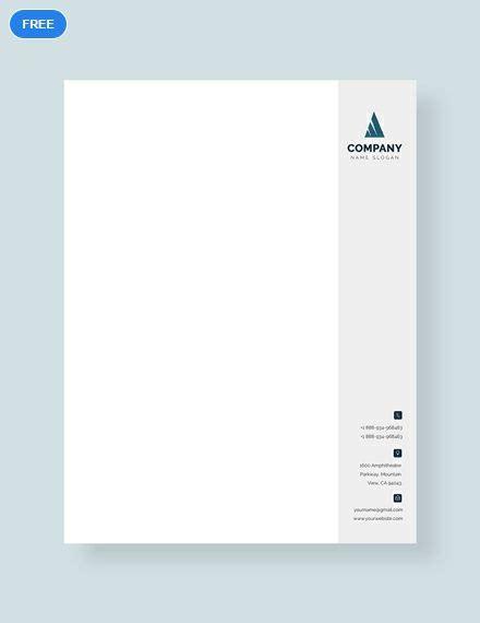 business letterhead format letterhead templates