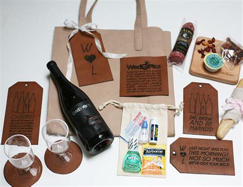 diy wedding welcome gift bags diy vineyard wedding welcome bag inspired by this