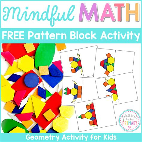 pattern block symmetry activities geometry and shapes activities for kids symmetry