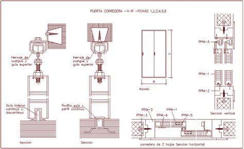 sliding door section dwg sliding door section dwg photo album woonv com handle idea