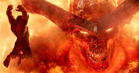 thor movie vs mythology surtur revealed in thor ragnarok clancy brown will voice