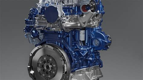 new ford diesel engine ford reveals all new ecoblue diesel engine motor1