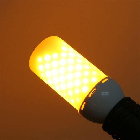 led light bulb flickering led e27 5w flicker effect light bulb warm white