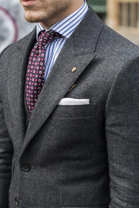 Fashion 603 2 Ruang 7 prince de galles gris cravate chemise couleurs fashionisto style