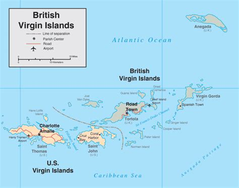 printable map virgin islands virgin islands british map free coloring pages