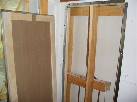Plumbing Access Door by Building A Plumbing Access Panel In Drywall