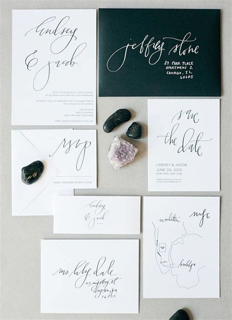 Best 25  Modern wedding invitations ideas on Pinterest