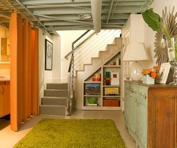 Partially Finished Basement Ideas Inspiring Your Basement Remodel Dig This Design