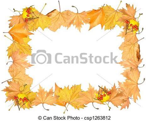 cornici autunno clipart di cornice giallo autunno posto immagine