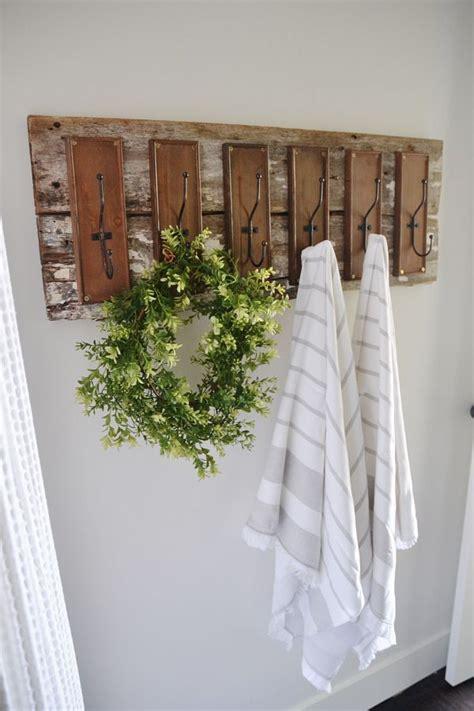 diy bathroom rack 25 best ideas about pool towel hooks on pinterest