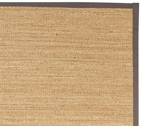 Fibreworks 174 Custom Color Bound Seagrass Rug Gray Pottery Barn Seagrass Rug
