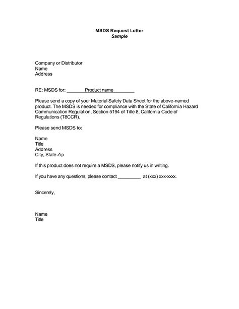 Business Letter For Request best photos of sle letter requesting documents