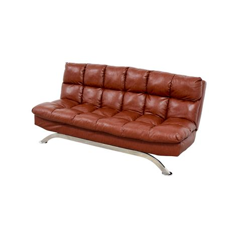 62 off wayfair wayfair brookeville brown leather