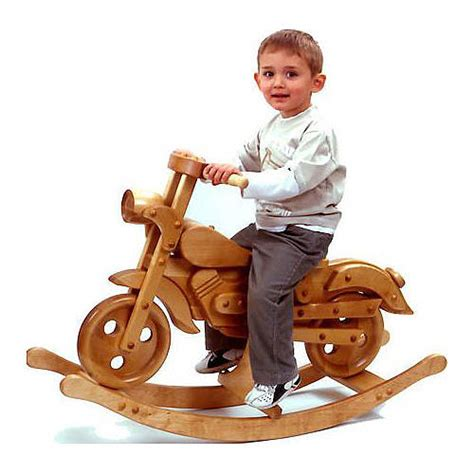 wood bike stand how to decorate a rocking horse how to vintage style wooden rocking motorbike by hibba toys of