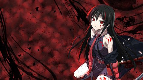 wallpaper android anime akame ga kill anime girls akame ga kill akame wallpaper anime