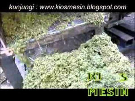 Mesin Perajang Rumput Manual uji coba mesin perajang pencacah penggiling penghancur