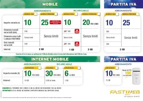 fastweb mobile start fastweb tovaglietta mobile settembre 2014