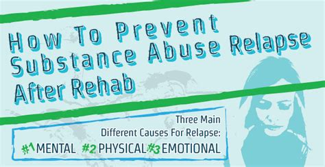 Substance Abuse Center Of Kansas Detox by How To Prevent Substance Abuse Relapse After Rehab Infographic