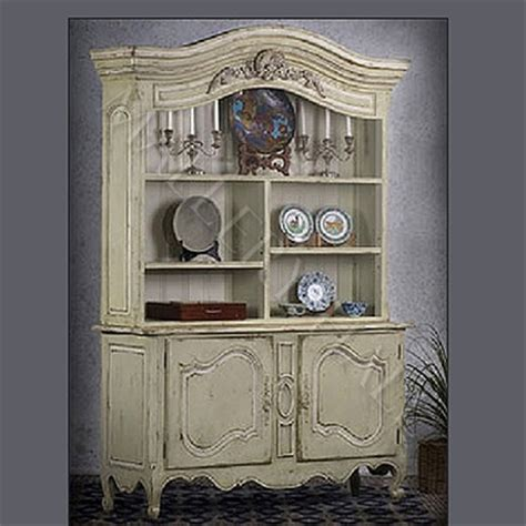 country china cabinet country provence hutch parchment china cabinet
