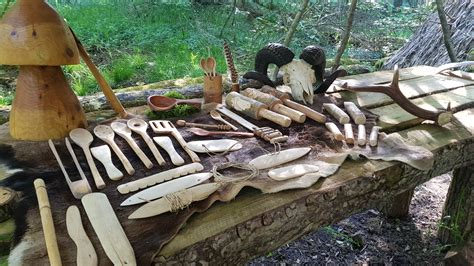 green woodworking day bushcraft uk