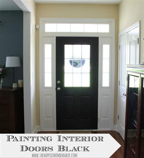 How To Paint Front Door Black Exterior Door Paint Delmaegypt