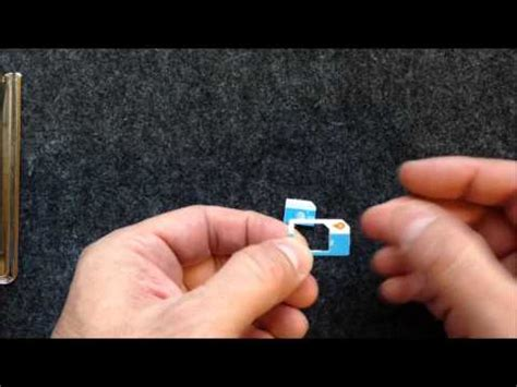 make micro sim card make a micro sim card adapter how to make do everything