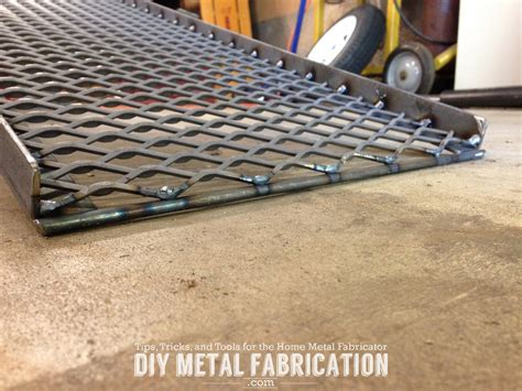 diy metal fabrication projects diy wheelchair transfer platform part 1 diy metal fabrication