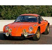 1970 Renault Alpine A110 1600S Group 4 Race Racing