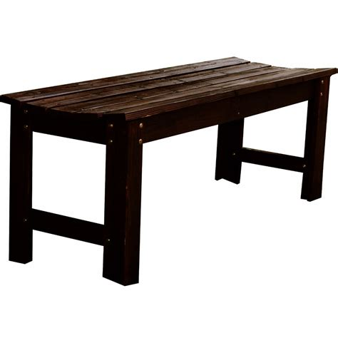 backless bench backless wooden outdoor bench in outdoor benches