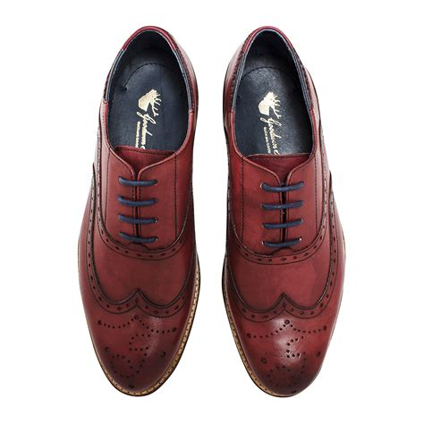 Handmade Shoes Brisbane - brisbane brogue bordo uk 6 goodwin smith touch