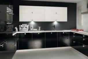 black white silver kitchen ideas design