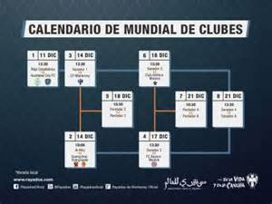 Calendario Mundial De Clubes Mundial De Clubes 2015 Calendario Search Results